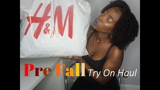 H&M Fall haul 2018 Try On for Slim Thick Curvy Girls Video