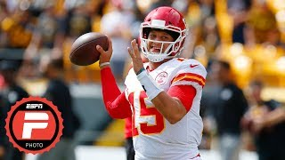 Patrick Mahomes: The story of the Chiefs QB's 6-TD performance vs. the Steelers | ESPN Photos