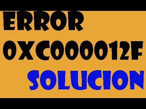 error 0xc000012f imagen incorrecta en windows 10/8/7 i soluciÓn