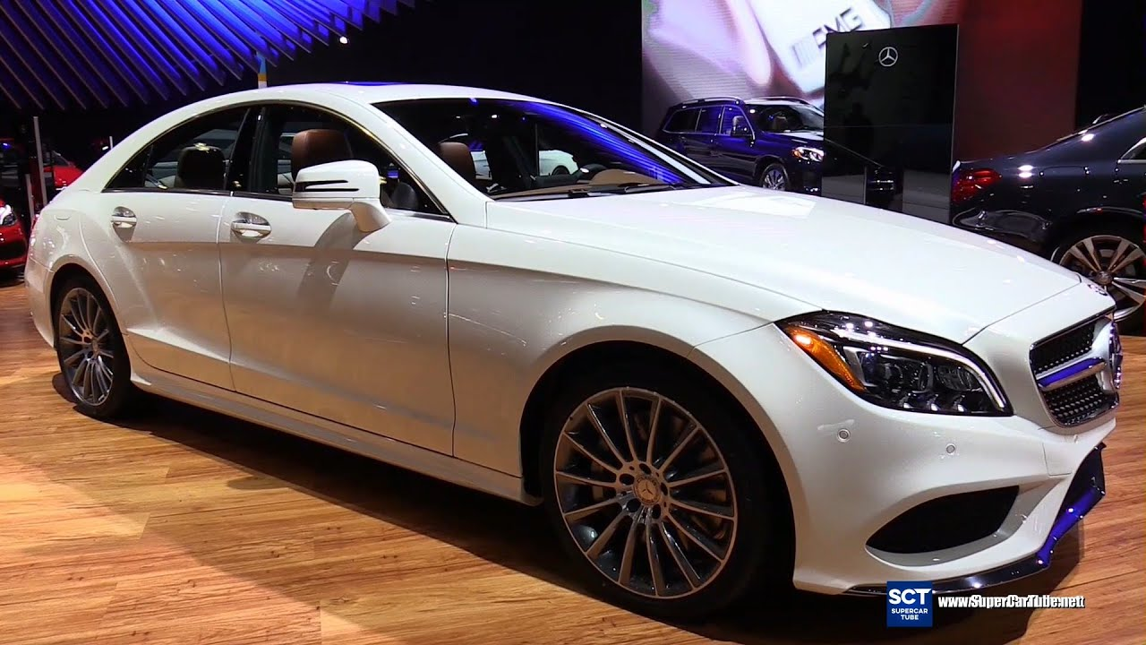 2016 mercedes benz cls class cls 550 exterior interior walkaround 2015 la auto show youtube. Black Bedroom Furniture Sets. Home Design Ideas