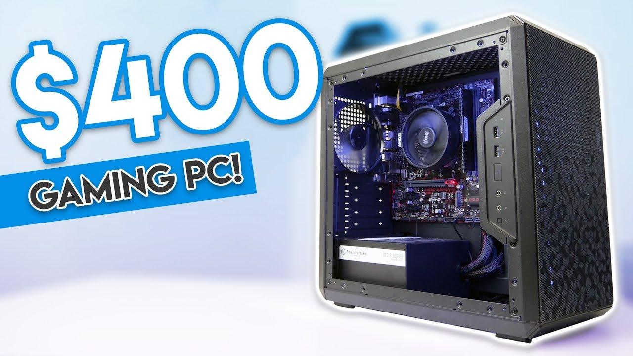 2375976d6f0fbf BUDGET  400 GAMING PC BUILD 2018!  Fortnite, PUBG, GTA V   1080p ...
