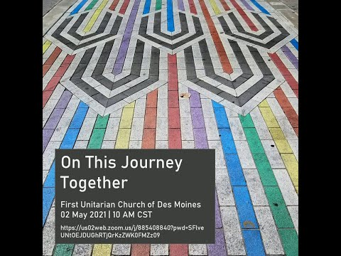 UCDSM Service May 2 2021 On the Journey Together