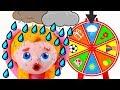 BABY GIRLS MAKE MAGIC ❤ Superhero Babies Play Doh Cartoons For Kids