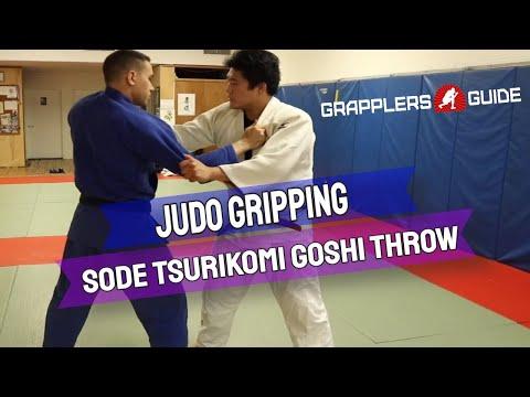 Shintaro Higashi - Judo Gripping - Sode Tsurikomi Goshi Throw