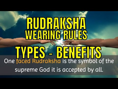 Rudraksha and Its Benefits, Rudraksha Beej Mantra, Wearing Rituals, Money, Business, Health, Rules