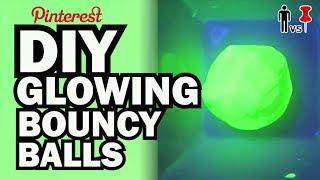 Diy Glowing Bouncy Balls   Kid Vs Pin   Pinterest Project #49