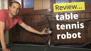 Can a table tennis robot help you improve? | Tom Lodziak