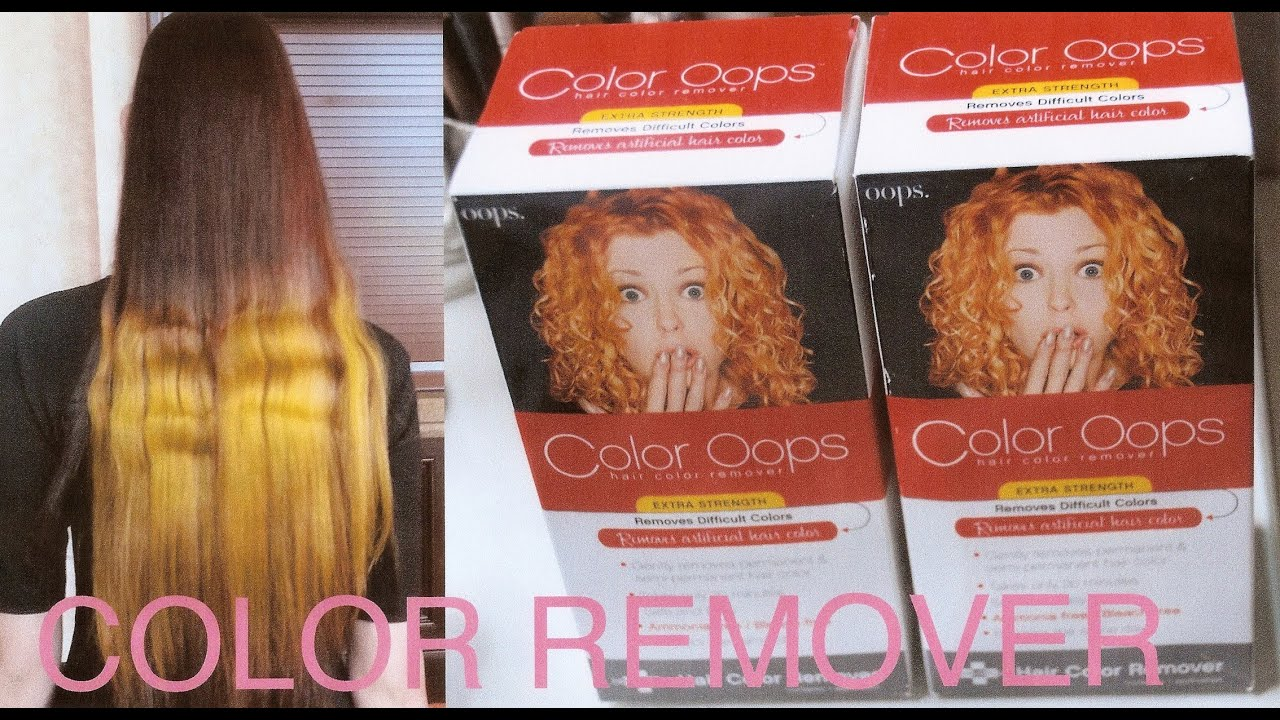 HOW to REMOVE DYE, COLORED HAIR and GO NATURAL - YouTube