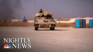 As Most U.S. Troops Withdraw, Others Move Into Syria To Help Guard Oil Fields | NBC Nightly News