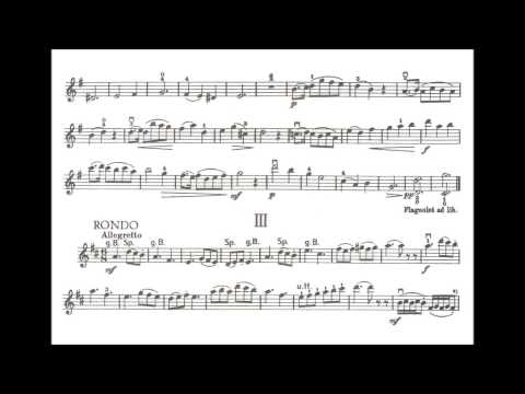 Küchler, Ferdinand opus 12 for violin + piano