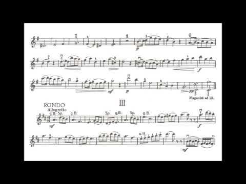 Küchler, Ferdinand opus 12 for violin + piano