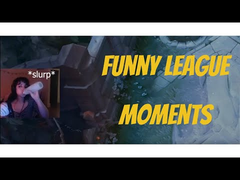 RAGING ON LEAGUE (FUNNY MOMENTS)