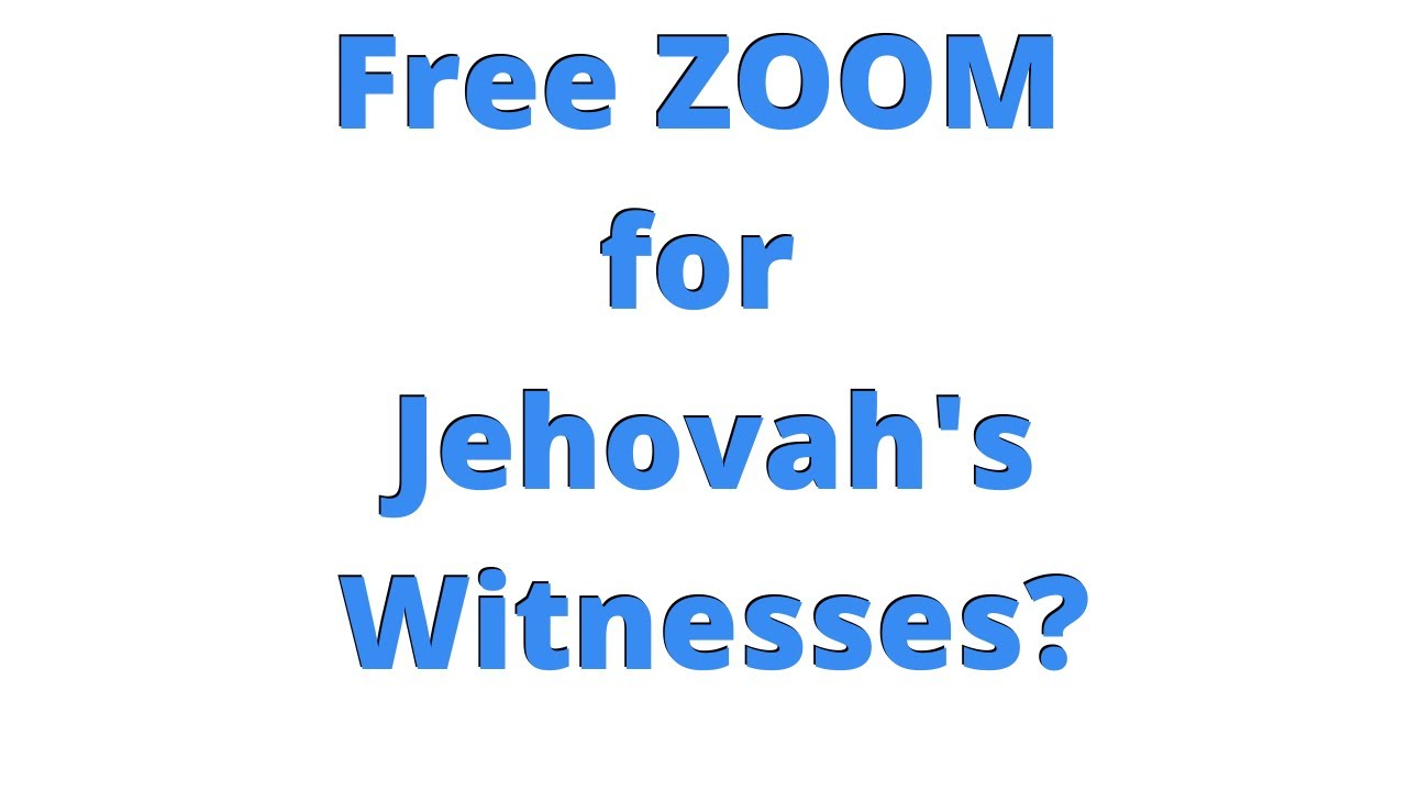Jw Zoom Meeting Youtube Features pockets for tracts and invitations to kingdom hall meetings, ***embly, conventions, and the memorial. jw zoom meeting youtube