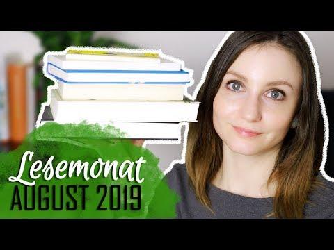 [Lesemonat] August 2019 | 7 gelesene Bücher