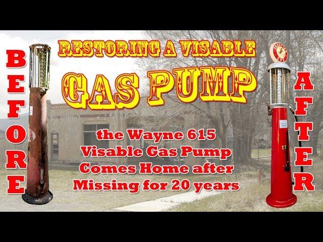 Restoring a Wayne 615 visible gas pump