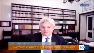 02/04/2020 - Buongiorno Regione Lazio (RAI 3) - COVID- 19 e attività degli studi notarili