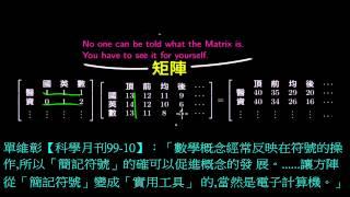線性代數102B-1 矩陣、方程組、行空間、列空間