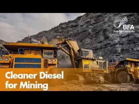 Cleaner Diesel for Mining   Bulk Fuel Australia