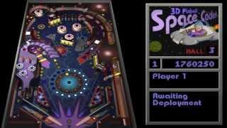 Pinball Space 3D Demo...