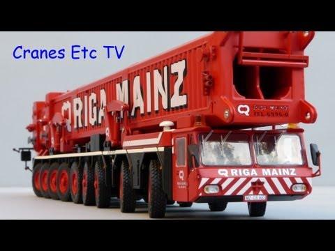 YCC Gottwald AMK 1000 Mobile Crane Part 1 by Cranes Etc TV