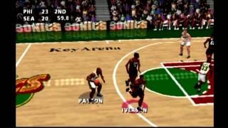 NBA Live 99  PS1   Episode 11