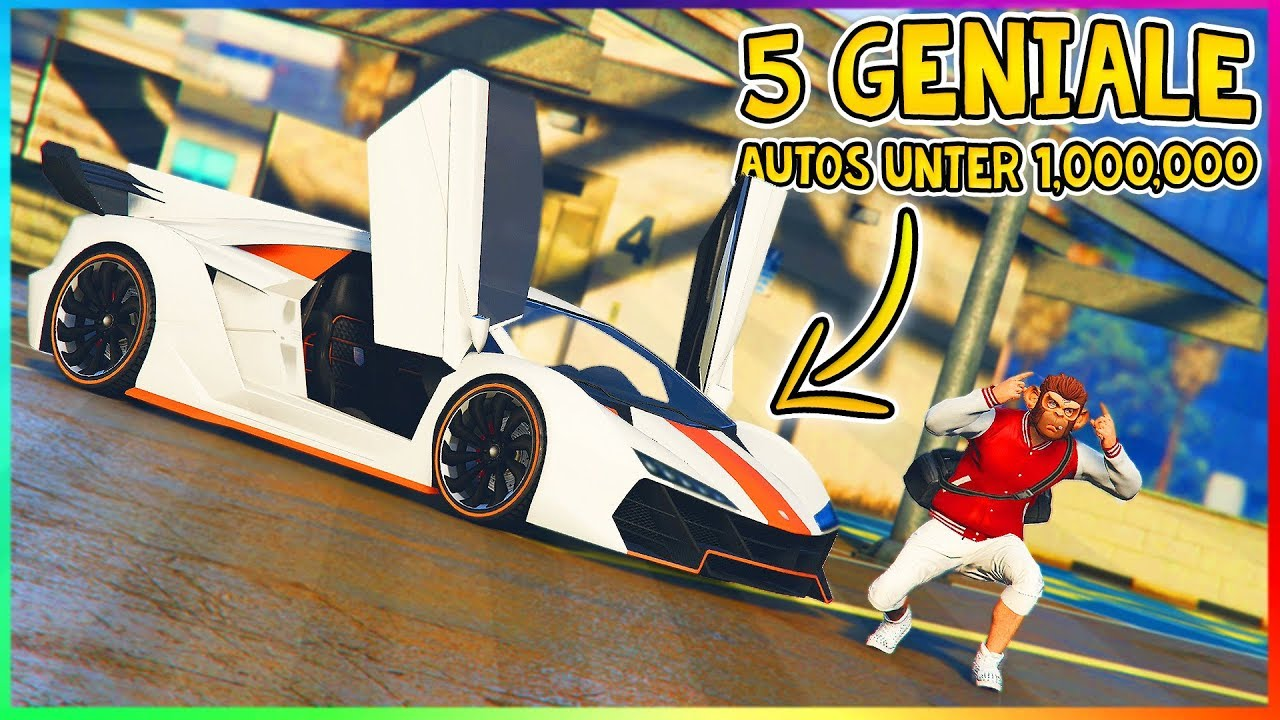 die 5 besten autos f r unter 1 000 000 in gta 5 online. Black Bedroom Furniture Sets. Home Design Ideas