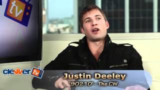 Justin  Deeley Talks '90210' & AnnaLynne McCord