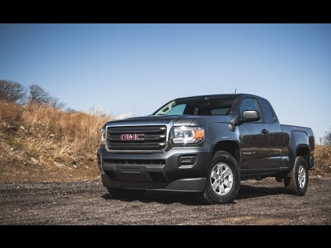 gmc canyon 2 5l automatic 4x4 extended cab 2016 car review youtube. Black Bedroom Furniture Sets. Home Design Ideas