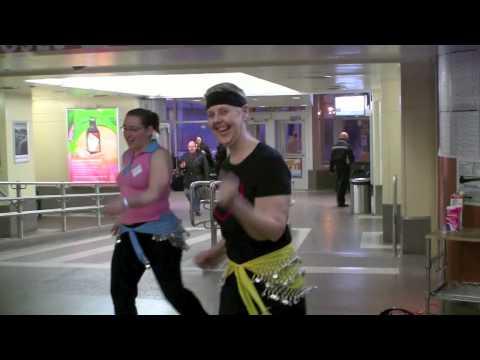 YWCA Hamilton Zumba Demo at GO Station