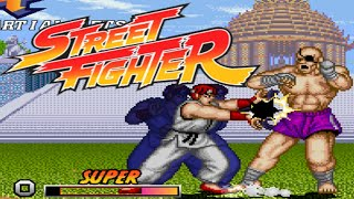 STREET FIGHTER ONE REMIX - PC LONGPLAY - RYU Playthrough (NO DEATH RUN) (FULL GAMEPLAY)