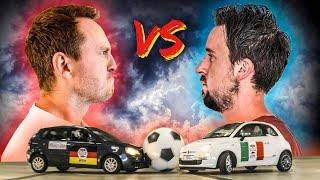 homepage tile video photo for Volkswagen Polo Vs Fiat 500: £200 Car Football Battle