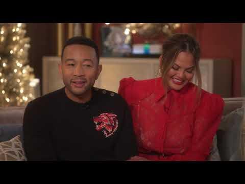 A Legendary Christmas with John & Chrissy   John Legend & Chrissy Teigen Interview    SocialNews.XYZ Mp3