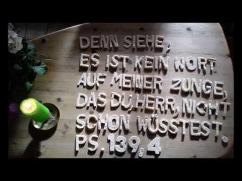 Psalm 139 Deutsch