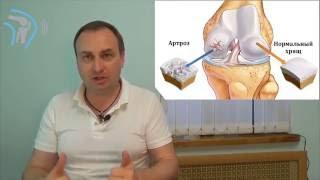 Боли в коленном суставе. Лечение артроза. Видео школа Здоровые колени. Урок 3.