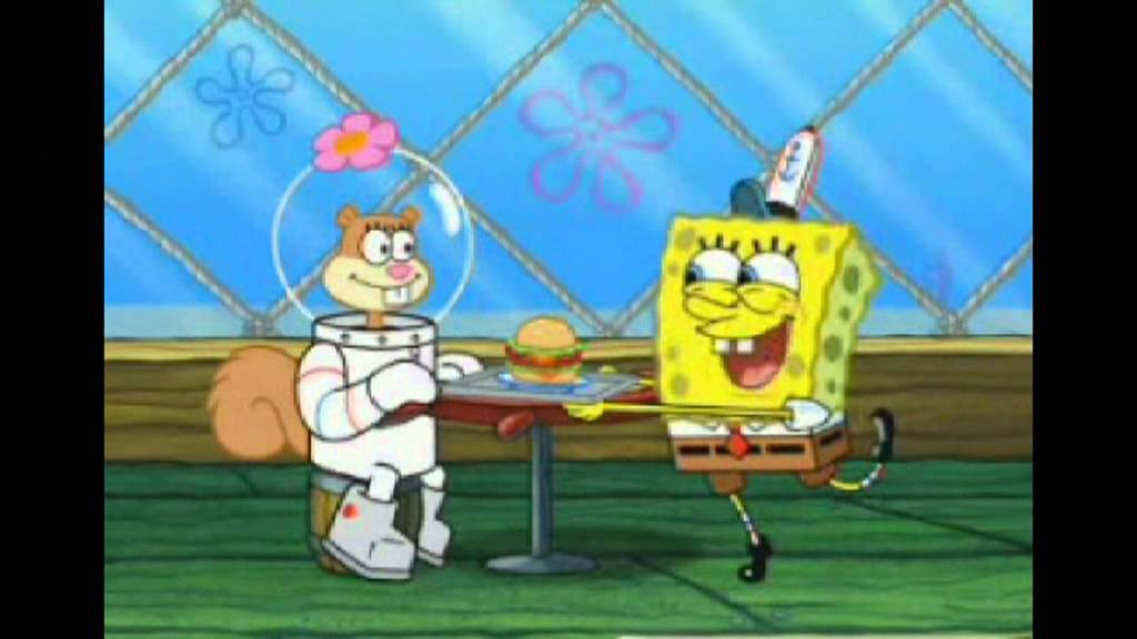Spongebob Squarepants Someone S In The Kitchen With Sandy