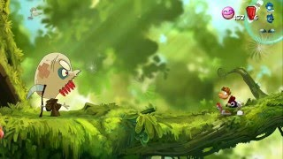 Rayman Origins, Xbox 360 Playthrough Part 11