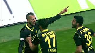 Kayserispor 0 - 1 Evkur Yeni Malatyaspor #Özet