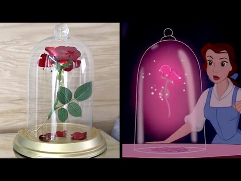 Diy Beauty And The Beast Enchanted Rose No Drilling Easy Tutorial