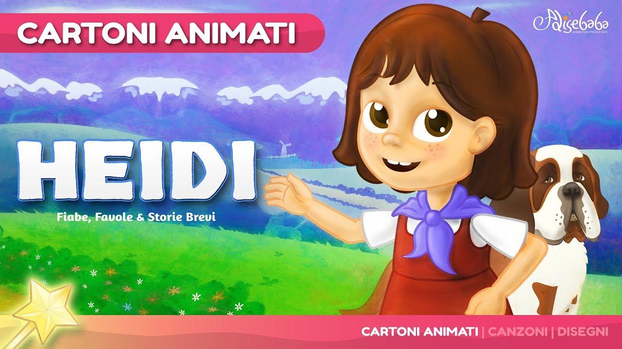Heidi storie per bambini cartoni animati fiabe e for Buonanotte cartoni