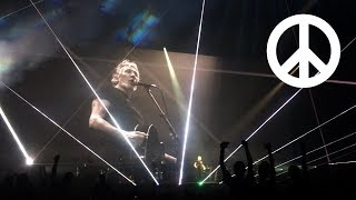 Roger Waters - 'Mother' + epic anti-nuclear callout - Melbourne, 13 Feb 2018