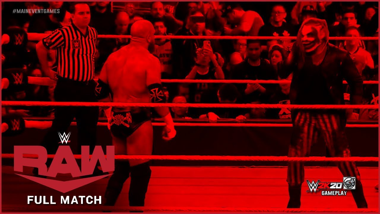 FULL MATCH - The Fiend vs. Triple H : RAW, Nov 4, 2019 - YouTube