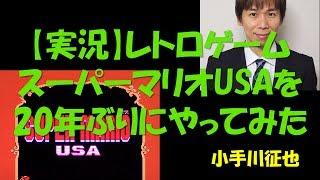 ファミリーコンピュータの名作、任天堂のスーパーマリオUSA(アメリカ版...