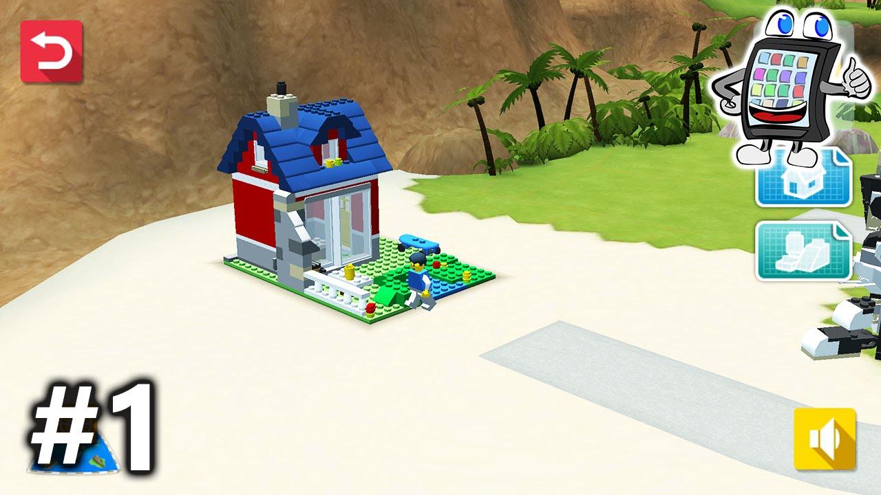 lego creator islands deutsch 1 eigene lego insel bauen app f r kinder spiel mit mir youtube. Black Bedroom Furniture Sets. Home Design Ideas