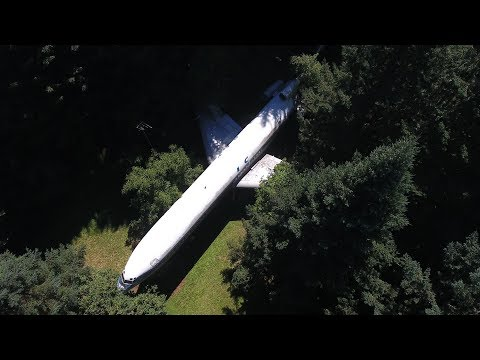 PLANE IN FOREST ( Someone lives In It ) !!