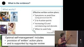 Hilary Pinnock   Self management of asthma