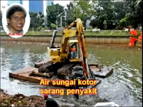 Lagu anak-anak : jangan buang sampah ke sungai