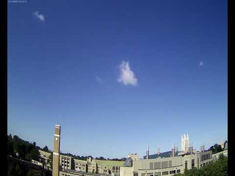 BC Gasson Sky Camera 2017-09-09: Boston College