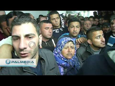فيديو تسليم جثمان الشهيد محمود ابو فنونة في الخليل HD