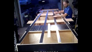 Homemade boat that works.. Plywood flat bottom boat that works video V1