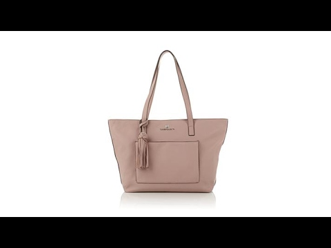 Vince Camuto Alda Pebbled Leather Tote - YouTube 4a062cd38a